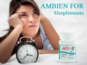 Ambien for Sleeplessness