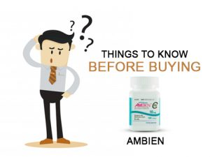Know Before Buying Ambien