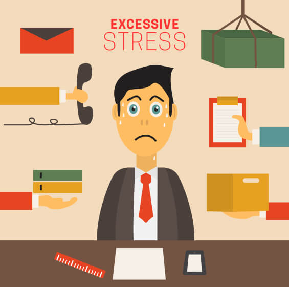 Excessive stress