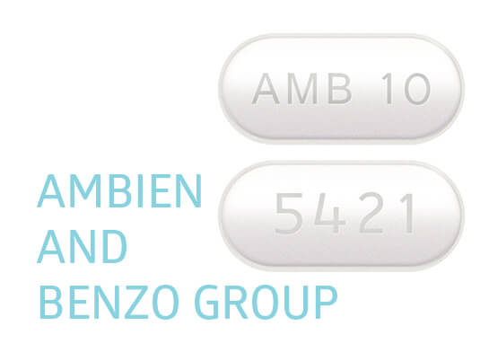 ambien and benzo group