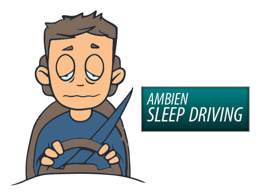 ambien and sleep driving