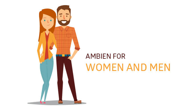ambien for women and men