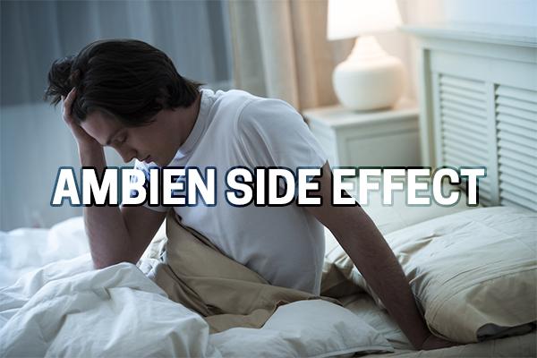ambien side effect