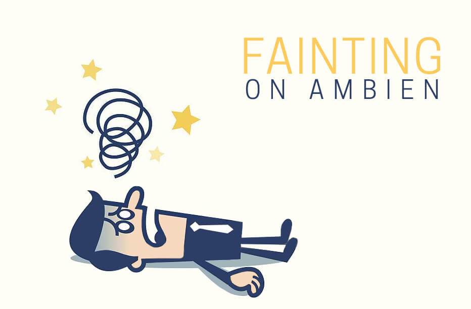 fainting on ambien
